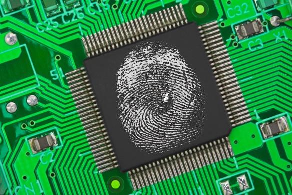 elektronischer Fingerabdruck